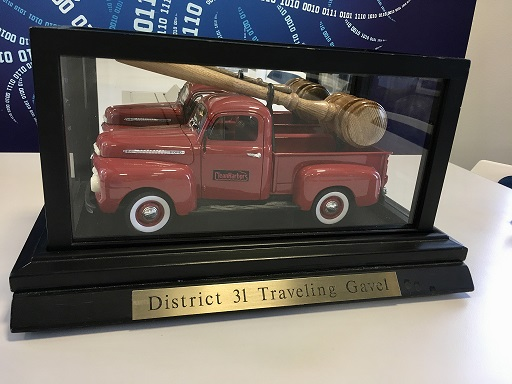 The Traveling Gavel
