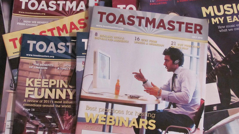 District 31 Members Featured in Toastmaster Magazine!