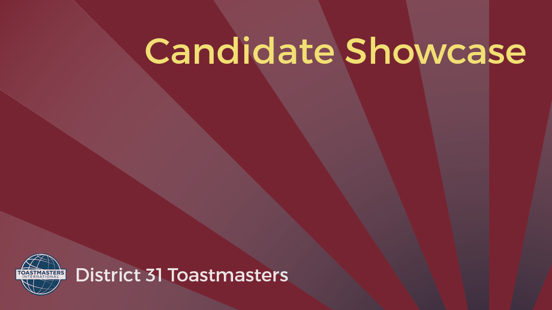 District 31 Candidate Showcase