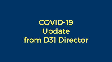 District 31 COVID Situation Update