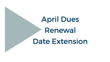 Dues Renewal Date Extended