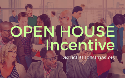 Open House Incentive