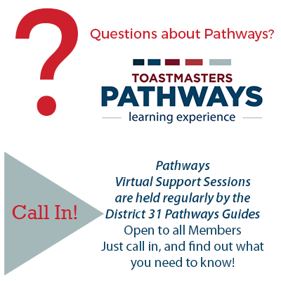 New Pathways Virtual Session Schedule Open to all Members