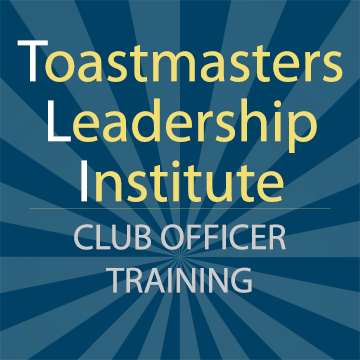Toastmasters Leadership Institute (TLI) Winter 2019